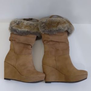 Call It Spring Camel Boots